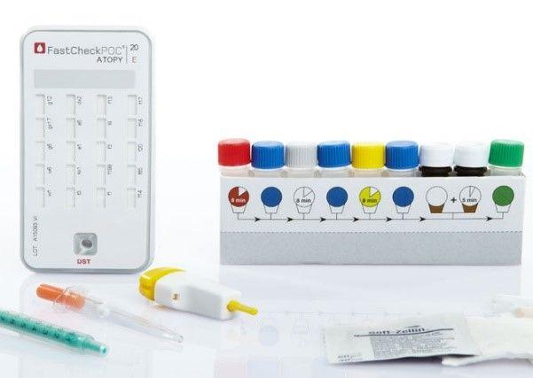 FastCheckPOC® 20 rapid allergy test